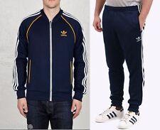 Adidas Originals SUPERSTAR Track Suit Jacket Top CUFFED Pant firebird~Mens sz XL