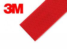 3m 983 Rojo Reflectante Cinta 55mm x 2m ECE104 compatible (Evidencia Del ec104)