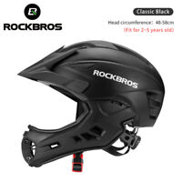 ROCKBROS Ultralight MTB Cycling Helmet Motorcycle Kids Childs MOTO Safety Gear