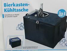 Bierkasten Kühltasche Kühlbox  33 l mit Extraöffnung für schnellen Zugriff 42x31