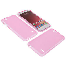 Case for ZTE Blade S6 Cell Phone Pocket Cases TPU Rubber Case Pink