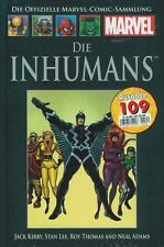 Officiel MARVEL Bande dessinée Recueil 109 (C 10) Inhumans Hachette Collection J. Kirby