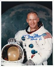 BUZZ ALDRIN APOLLO 11 MOON WALKER -WSS- HAND SIGNED 8x10 PHOTO NASA W-LOA - MINT