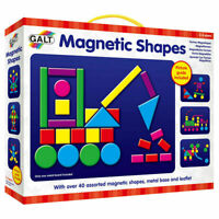 Galt Toys Kids Play and Learn Magnetic Shapes - FREE & FAST DELIVERY
