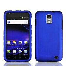 For Samsung Skyrocket Galaxy S II 2 Rubberized HARD Case Phone Cover Blue