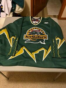 Louisiana IceGators Pre-Game worn Hockey Jersey #9 SP56 Cool Jersey ECHL