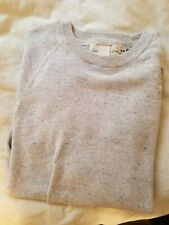 LOGG For H&M Crew Neck Sweater Gray Mens Size Small