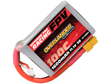 Overlander Extreme Pro 1600mAh 3S 11.1v 100C FPV LiPo Battery XT60 Connector
