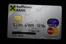 Russia Russian RAIFFEISEN BANK MASTERCARD CARD