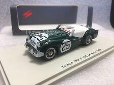 Spark 1/43 Triumph TR3S Spider Team Standard #25 - 24h Le Mans 1959 Art. S1395