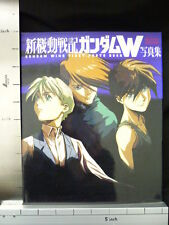 GUNDAM WING Illustrated Collection Art Book KD