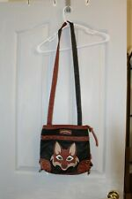 Union Bay Fox Convertible Cross-body to Mini back pack Bag Purse Faux Leather