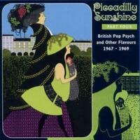 PICCADILLY SUNSHINE Part 4 - British Pop Psych V/A (NEW) CD Rare 60's