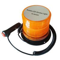 Rundumleuchte Warnleuchte Blitzleuchte Magnetfuss 12V Neuheit 48 Watt  Klar//Gelb