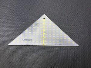 Prym Omnigrid Half Square Quilting Ruler
