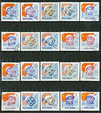 Roemenië 2238 - 2257 gebruikt  (motief Ruimtevaart)