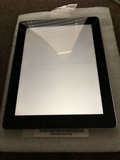 Apple iPad 4th Generation 16GB, Wi-Fi  only 9.7in - black  AS IS not locked