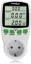 Contador medidor de consumo eléctrico corriente electricida programador enchufe
