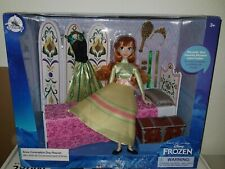 Disney Store Classic Doll Frozen Anna Coronation Day Playset klassische Puppe