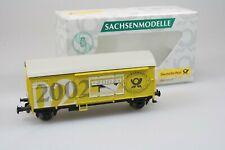 Sachsenmodelle 78795 Wagon de Marchandise Couvert Post Jahreswg 2002 Emballage