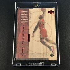 MICHAEL JORDAN / KOBE BRYANT 1998 UD HARDCOURT #J13 HOLDING COURT RED #'D /2300