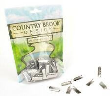 50 - Country Brook Design® 1 Inch Aluminum Belt Tip