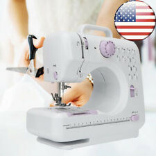 Electric Sewing Machine Hand-held Tailor Beginners 12 Floral Stitches 100-240V