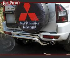 MITSUBISHI PAJERO MK3 2000-2006 REAR BULL BAR +GRATIS!! STAINLESS STEEL!