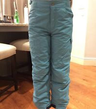 Columbia Teal Snow Ski Pants Winter Girls Large