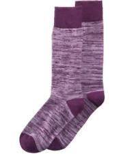 Alfani Men's Space-Dyed Socks,Purple, Shoe Size: 7-12 / Sock Size: 10-13