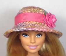 'SIMPLE SUNDAY' One of a kind Hat only hand made for Barbie