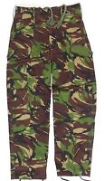 GENUINE BRITISH ARMY & ARMY CADETS COMBAT TROUSERS in WOODLAND DPM CAMO