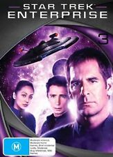 STAR TREK ENTERPRISE: Season 3 DVD TV SERIES SCI-FI FANTASY 7-DISCS BOX SET R4