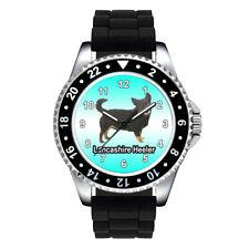Lancashire Heeler Dog Breed Unisex Mens Womens Silicone Strap Wrist Watch Se722