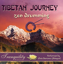 TIBETAN JOURNEY ZEN DRUMMING MUSIC CD RELAXATION MEDITATION 5029344225226