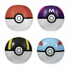 Pokémon Center Sunset Beach Ball Set of 4: Classic-Master-Ultra-Great Pokeballs