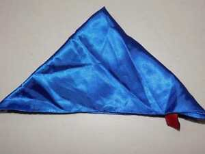 Alfani Men's Blue Solid Pocket Square Handkerchief 100% Polyester NWOT PS589