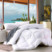 PREMIUM LUXURY 100% SOFT MICROFIBRE DUVET QUILT SINGLE DOUBLE KING SUPER SIZE