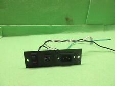 Treadcliber Tc 5000 Ac Inle t/Switch On/Off Set