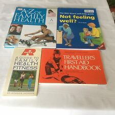 HEALTH, FIRST AID AND FITNESS BOOKS