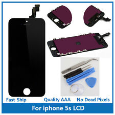 iPhone 5S Replacement Touch Screen LCD Digitizer Display Assembly Black w/ Tools