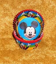 Mickey Mouse Cupcake Papers,Wilton, 415-7070,Blues,Bake Cups, Party