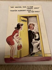 Bamforth Postcard Comic  Series   No. 751