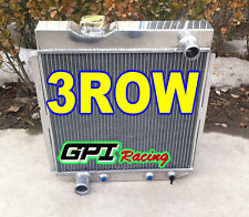 3 Row FOR FORD Mustang V8 ENGINE 5.0L 1964-1966 64 65 66 Aluminum Radiator