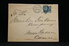 Puerto Rico: Military Sta #1, Wash, D.C. 1899 Cover to New Haven, Connecticut