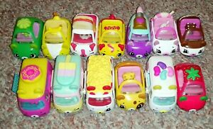 Shopkins Cutie Cars Bundle Of 13 Cars All With Mini Characters