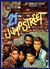 21 JUMP STREET - COMPLETE SERIES 1 2 3 4 & 5 **BRAND NEW DVD BOXSET**