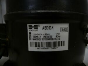 Huaguang ASD53K Fridge Compressor