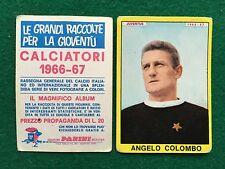 CALCIATORI 1966/67 66/1967 JUVENTUS Angelo COLOMBO Figurina Sticker Panini (NEW)