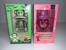 "Paul Frank 6"" Valentine Julius I Miss You & Skeleton Halloween Vinyl Art Figures"